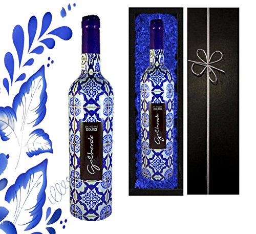 DAS-Portugal-Weingeschenk-Galharda-Tinto-Douro-Fr-Liebhaber-portugiesischer-Weine-Rotwein-aus-Portugal-Vintage-Ideal-zum-Geburtstag-Vatertag-Jubilum