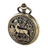TREEWETO-taschenuhr-mit-kette-herren-bronze-rmische-ziffern-retro-uhr-hirsch-rentier-taschenuhren-mechanisch-pocket-watch