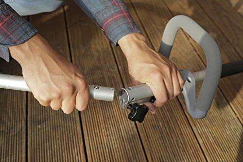 IKRA-Benzin-Rasentrimmer-IBT-25-1-inkl-Fadenspule-mit-Tippautomatik-Schultergurt-Schnittkreis-430mm