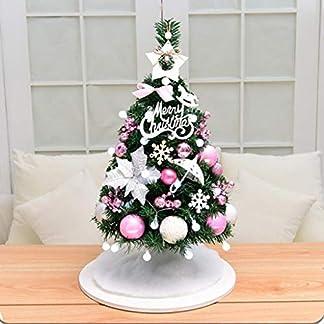 DZWLYX-Baumdecke-Weihnachtsbaum-Rock-Christbaumdecke-Rund-Wei-Weihnachtsbaumdecke-Christbaumstnder-Teppich-Decke-Weihnachtsbaum-Deko-60CM