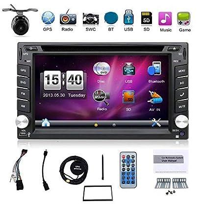 mit-Kamera-Double-DIN-157-cm-Auto-GPS-Navigation-in-Dash-Car-DVD-Player-Stereo-Touch-Bildschirm-mit-Bluetooth-USB-SD-MP3-Radio-fr-Universal-Auto