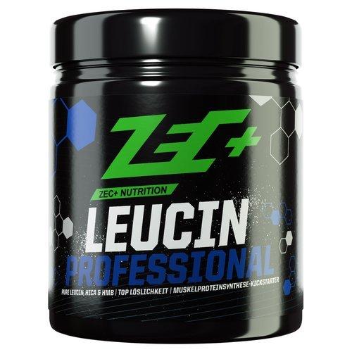 ZEC+ LEUCIN Professional | anabole Aminosäuren-Formel mit L-Leucin + HMB + HICA | perfekt für Hochleistungssportler nach dem Training geeignet | zündet die Muskelproteinsynthese | COLA 270g