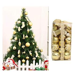 Asdomo-Christbaumkugel-Ornament-Set-50-Stck-Sortiert-bruchsicher-dekorative-Kugeln-Anhnger-mit-Geschenkband-fr-Weihnachtsbaum-Hochzeit-Urlaub-und-Party