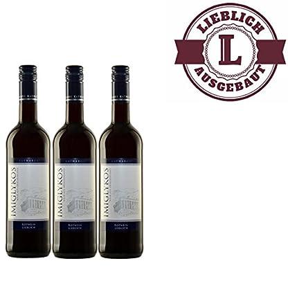 Rotwein-Griechenland-Imiglykos-Katharos-lieblich-3x075l-VERSANDKOSTENFREI