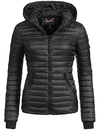 Navahoo Damen Jacke Übergangsjacke Steppjacke Kimuk (vegan hergestellt) 17 Farben + Camouflage XS-XXL