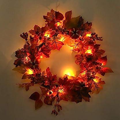 LED-Weihnachtsgirlande-Kranz-Adventskranz-DekoHerbst-Weihnachten-Kranz-Home-Dekoration-Hotel-Einkaufszentrum-Dekoration-Anhnger-Kranz