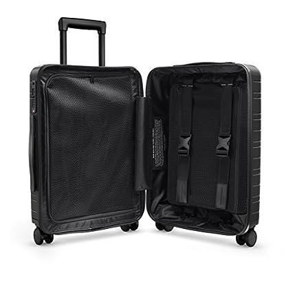 HORIZN-STUDIOS-M5-Handgepck-Kabinen-Trolley-Koffer-Hartschale-55-cm-33-L-mit-4-Rollen-Laptopfach-und-TSA-Schloss