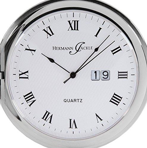 Hermann-Jckle-Baden-Baden-Quarz-Taschenuhr-mit-Big-Date-Datumsanzeige-incl-Kette-Box