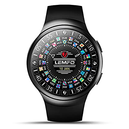 LEMFO-LES2-Android-51-Smart-Watch-Heart-Rate-Monitor-Google-Map-Watch-Phone-for-Android-IOS-Fast-Shipping