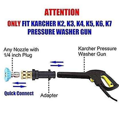 ZOZOSEP-14-Schnelladapter-Hochdruckreinigung-Schaumtopf-Reinigung-Fr-Karcher-K-K2-K3-K4-K5-K6-K7