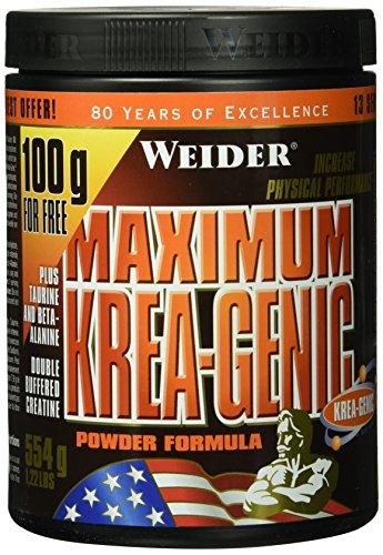 Weider, Maximum Krea Genic Powder, Neutral, 1er Pack (1x 454 g)