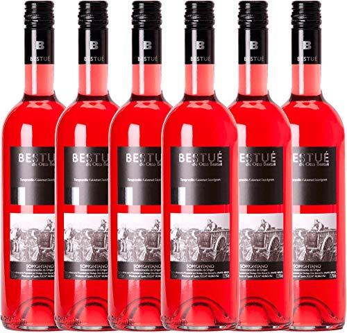 6er-Paket-Bestu-Rosado-Somontano-DO-2017-Otto-Bestu-trockener-Roswein-spanischer-Sommerwein-aus-Aragonien-6-x-075-Liter