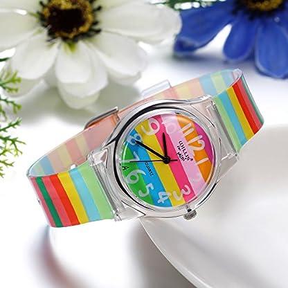 JewelryWe-Junge-Mdchen-Armbanduhr-Kinderuhr-Regenbogen-LGBT-Gay-Lesbian-Pride-Analog-Quarz-Uhr-Lernuhr-mit-Silikon-Armband
