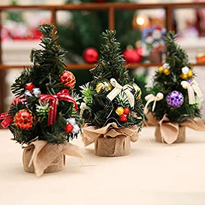 Panamami-Kreative-Weihnachtsbaum-Tabellen-Verzierungs-Feiertags-Mini-knstliche-Baum-Weihnachtsdekorations-Versorgungen-fr-Hauptspeicher-rot