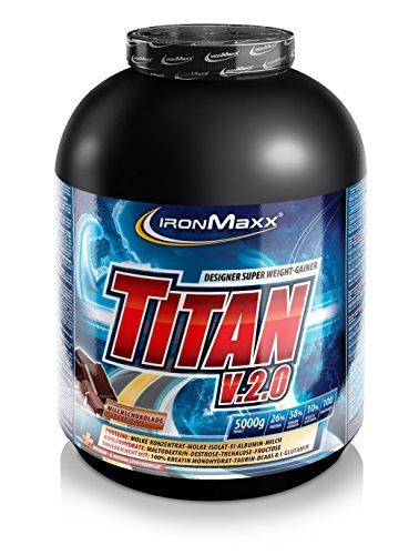 Ironmaxx  Titan v.2.0, Schokolade, Dose 5000 g