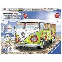 Ravensburger-Puzzle-12532-Ravensburger-12532-Volkswagen-T1-Hippie-Style-3D-Puzzle