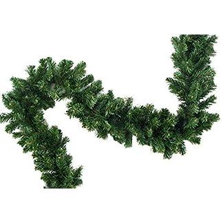 XXL-knstliche-Tannengirlande-Weihnachtsgirlande-Girlande-Tanne-Grn-Deko-Weihnachten-ca-270cm