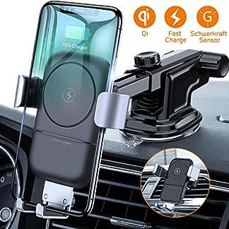 VANMASS-Wireless-Charger-Auto-Handyhalterung-10W-75W-Lftungs-Armaturenbrett-Qi-Handyhalter-Frs-Auto-2-in-1-Schwerkraft-Kfz-Induktive-Ladestation-fr-iPhone-XSXRX8P-S10S9S8-Andere-Qi-Fhige