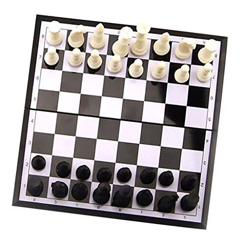 MagiDeal-Hochwertige-Magnet-Schach-Schachspiel-Satz-Faltbare-Schachbrett-mit-Schachfiguren-Spielzeug-Geschenk-fr-Kinder-und-Freunde
