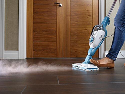 BlackDecker-17in1-Dampfbesen-FSMH1321JMD-Dampfhandschuh-SteaMitt-Dampf-Reiniger-fr-Boden-Fenster-uvm-Textilien-und-Polstermbel-Auffrischung-Automatische-Dampfmengen-Einstellung-1300-W