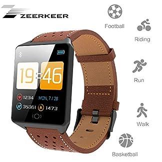 ZEERKEER-Multifunktionale-Sport-Armbanduhr-Fitness-trackers-15-Tage-Standby-IP67-Grobildschirm-Pulsmesser-Blutdruckberwachung-Facebook-Twitter-Cloud-Service-Armband-Uhr