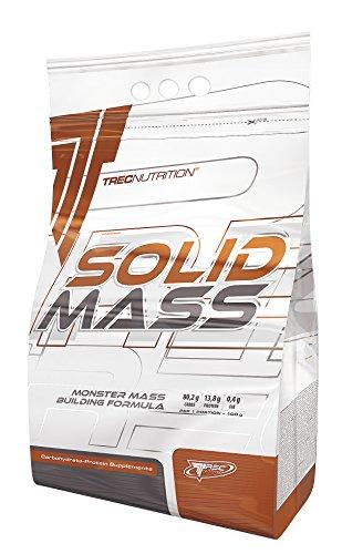 Trec Nutrition Solid Mass Gainer Kohlenhydrate Masseaufbau Muskelaufbau Muskelaufbau Bodybuilding (5800g Choco – Schokolade)