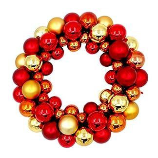 MARRYME-Weihnachtskranz-Kugeln-Adventskranz-Trkranz-Weihnachten-Dekoration