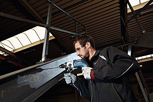 Bosch-Professional-06011B2001-Professional-GBM-13-2-RE-Bohrmaschine-Zahnkranzbohrfutter-13-mm-750-W-230-V-Schwarz-Blau-Edelstahl