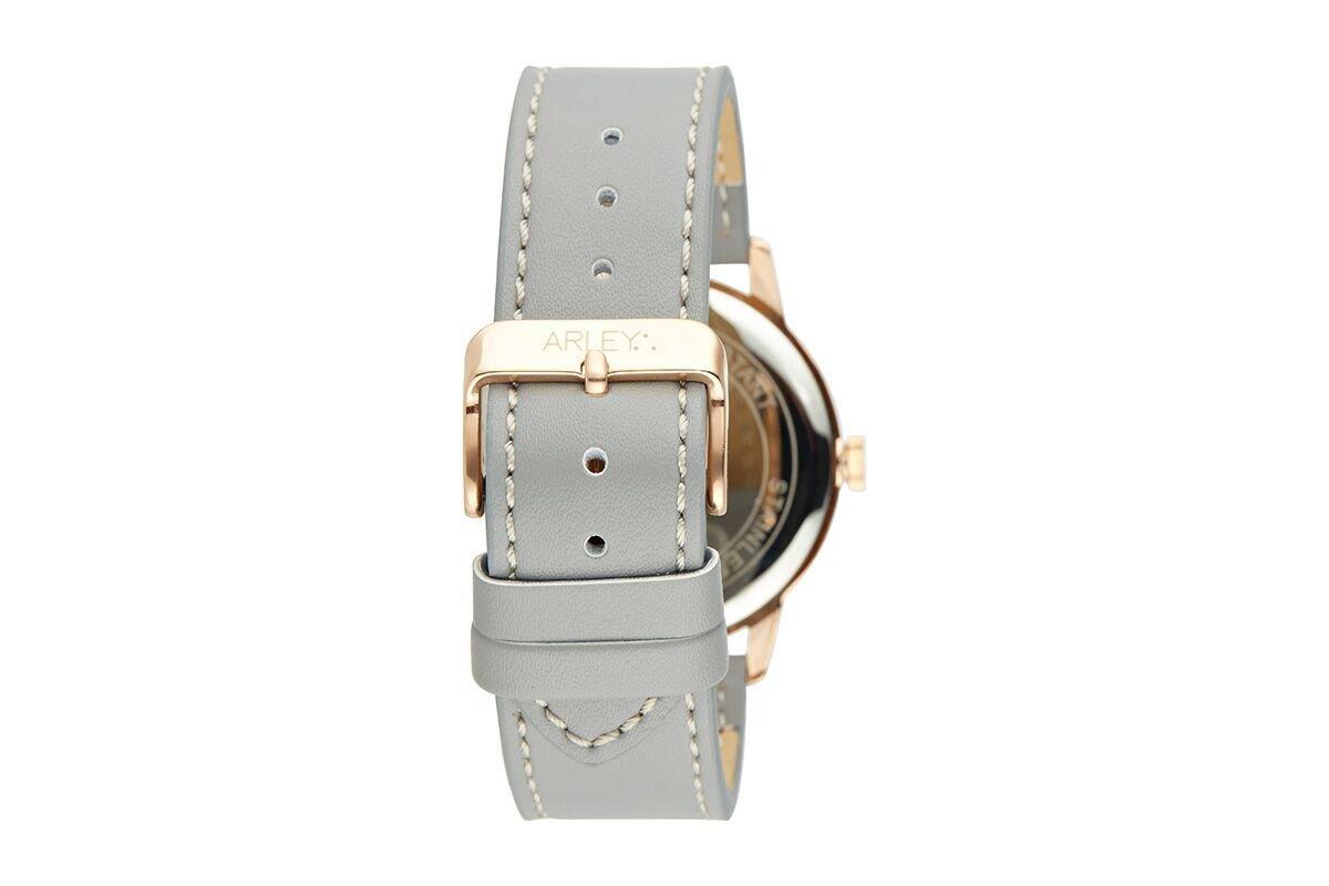 Arley-Unisex-Analog-Quarz-Uhr-mit-Leder-Armband-ARL904