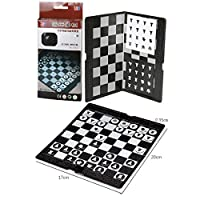 iVansa-Schachspiel-Magnetisch-Einklappbar-Schachbrett-Pdagogische-Schach-mit-Magnetischem-fr-Kinder-und-Erwachsen-20-x-17-x-035cm