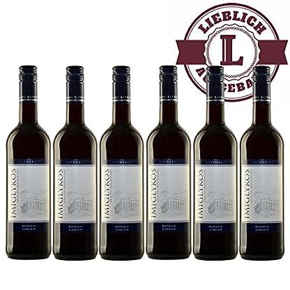 Rotwein-Griechenland-Imiglykos-Katharos-lieblich-6x075l-VERSANDKOSTENFREI
