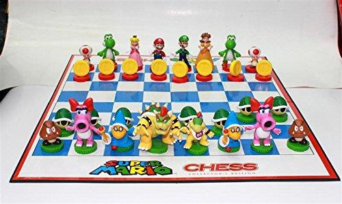 Super-Mario-Figuren-Schachbrett