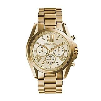 Michael-Kors-Damen-Armbanduhr-Analog-Quarz-Edelstahl-MK5605