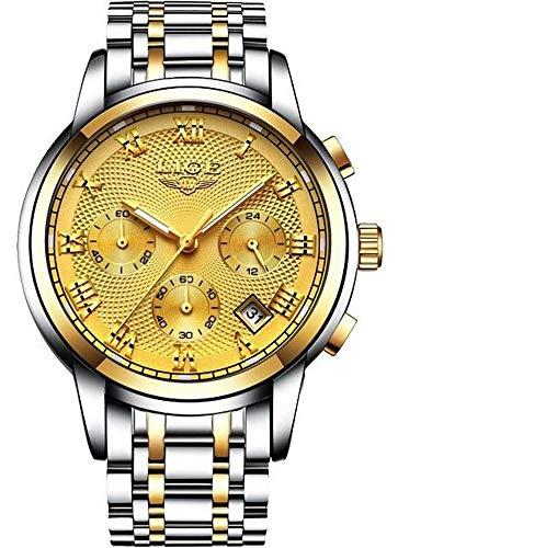 LIGE-Herren-Uhr-Analog-Automatik-mit-Edelstahl-Armband-9849