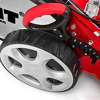 HECHT-Elektro-Rasenmher-1863-S-3-Rad-Elektro-Mher-1800-Watt-46-cm-Schnittbreite-3-fache-Schnitthhenverstellung-25-70-mm-60-L-Fangsack