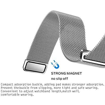 Altsommer-Edelstahl-Mesh-Uhrenarmband-Armband-LiebespaarIP54-Wasserdicht-Smart-Watch-Bluetooth-Smartwatch-Intelligente-Armbanduhr-Fitness-Tracker-Armband-Sport-fr-Android-IOS