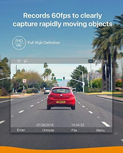 ROAV-Dashcam-GPS-S1-von-Anker-WiFi-Auto-Kamera-mit-24-LCD-Display-1080P-Full-HD-145-Weitwinkel-G-Sensor-WDR-Nacht-Modus-inkl-32-G-SD-Karte-und-Kfz-Ladegert