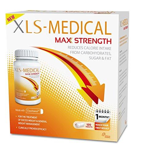 XLS Medical Maximale Stärke Diätpillen für Gewichtsverlust