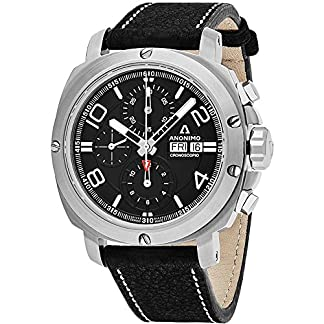 Anonimo-Cronoscopio-Herren-Armbanduhr-46mm-Leder-Automatik-AM-300001003A01