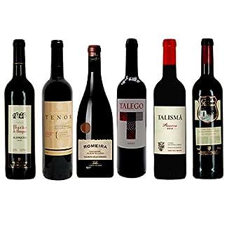 Rotwein-Probierpaket-Preisknaller-aus-Portugal-trocken-6x-075-l