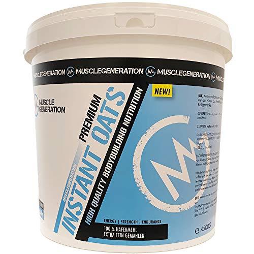 Musclegeneration Instant Oats Premium 4500 g   feinstes Hafermehl   guter Kohlenhydratlieferant