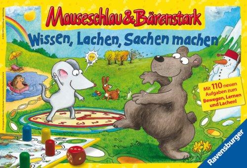 Ravensburger-21807-Mauseschlau-und-Brenstark-Wissen-Lachen-Sachen-machen