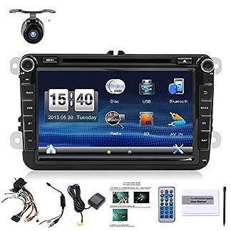 Gratis-Kritiker-Kamera-CANBUS-203-cm-2-DIN-Touch-Screen-Auto-DVD-Player-Stereo-Navigation-fr-VW-Volkswagen