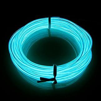 Lerway-3M-Elektrolumineszenz-EL-Wire-Rope-LED-Lighting-Weihnachten-Licht-Halloween-Party-Autobatterie-Beleuchtet-Flexibles-Streifen-Licht-Hellblau