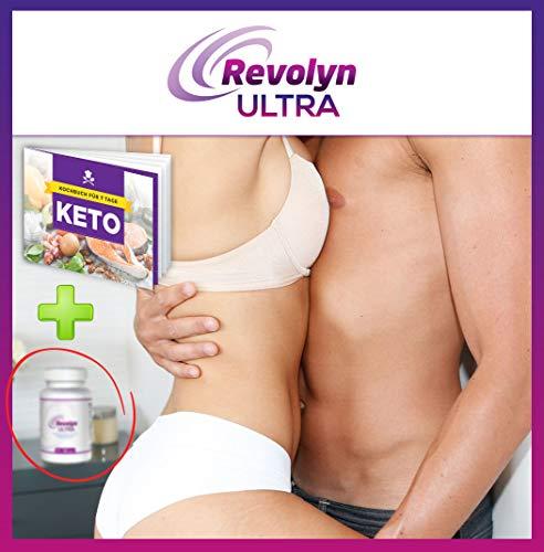 Revolyn Ultra – Schlankheitspille für effizienten Gewichtsverlust   Jetzt das 4-Flaschen-Paket mit Rabatt kaufen   (4 Flaschen)   Gratis dazu unser 7-Tage-Keto-Kochbuch