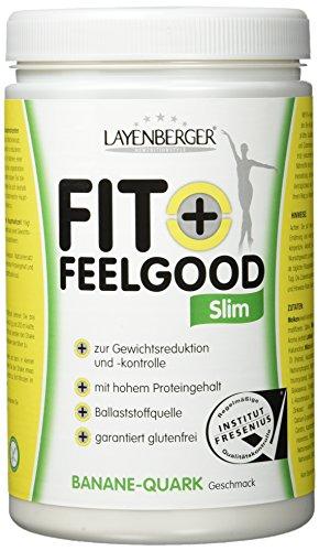 Layenberger Fit+Feelgood Slim Mahlzeitersatz Banane-Quark, 3er Pack (3 x 430g)