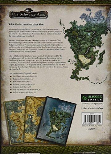 Landkartenset-Aventurien-2-berarbeitete-Auflage-Spielhilfe-Das-Schwarze-Auge–Regionalband