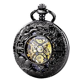 TREEWETO-taschenuhr-mit-kette-herren-schwarz-rmische-ziffern-retro-uhr-taschenuhren-mechanisch-pocket-watch
