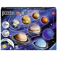 Ravensburger-Erwachsenenpuzzle-11668-Planetensystem-3D-Puzzle-bunt