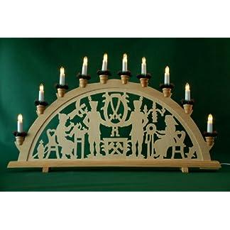 yanka-style-2-Stck-XL-Schwibbogen-Lichterbogen-Leuchter-Bergleute-traditionelles-Motiv-70-cm-lang-10flammig-Weihnachten-Advent-Geschenk-Dekoration-107422